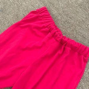 b9002b4dc43 Boohoo Plus Pants - Plus size Frill Hem Culotte Trouser!